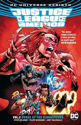 Justice League of America (2017-2018) Vol. 2: Curse of the Kingbutcher
