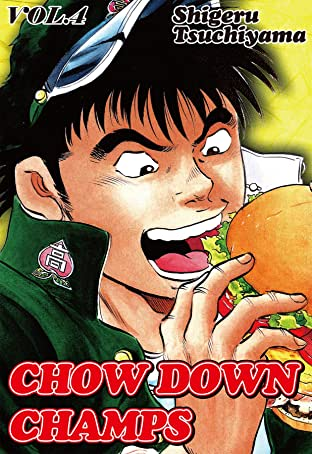 CHOW DOWN CHAMPS Tome 4
