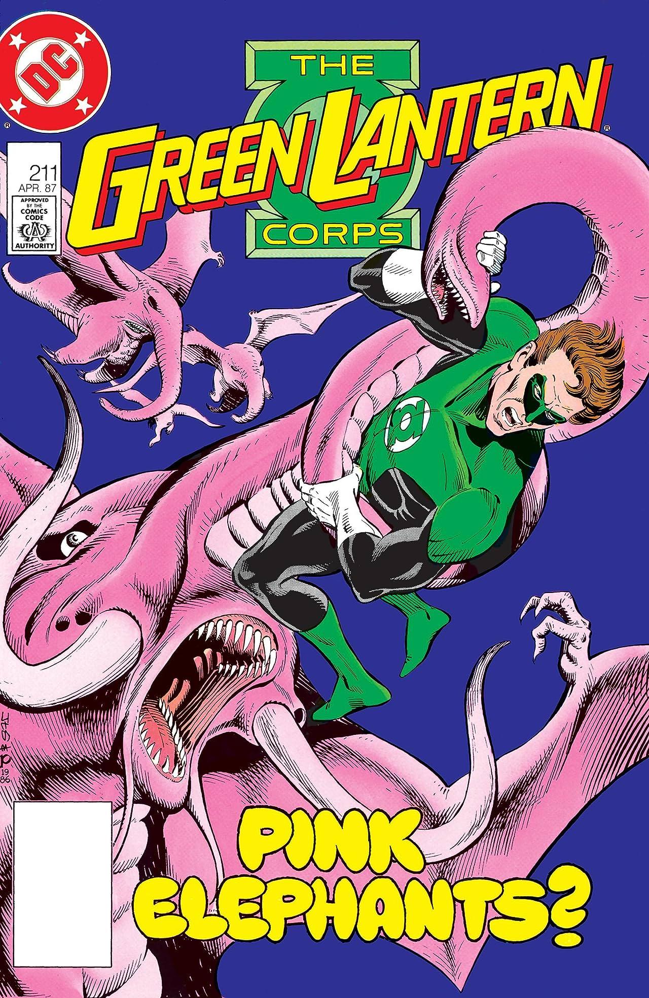 Green Lantern Corps (1986-1988) #211