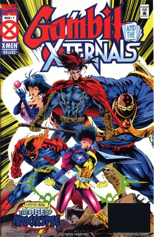 Gambit & The X-Ternals #1