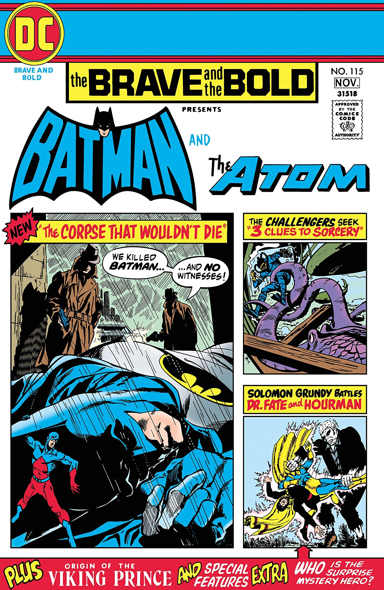 The Brave and the Bold (1955-1983) #115