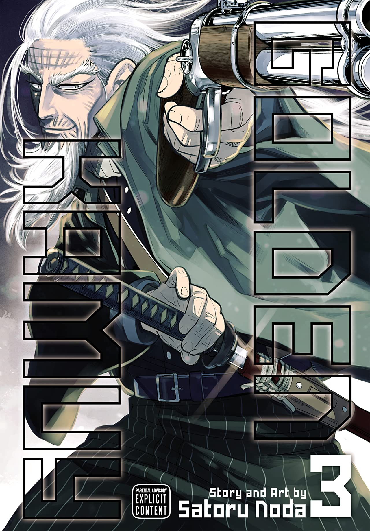 Golden Kamuy Vol. 3