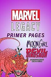 Moon Girl and Devil Dinosaur - Marvel Legacy Primer Pages