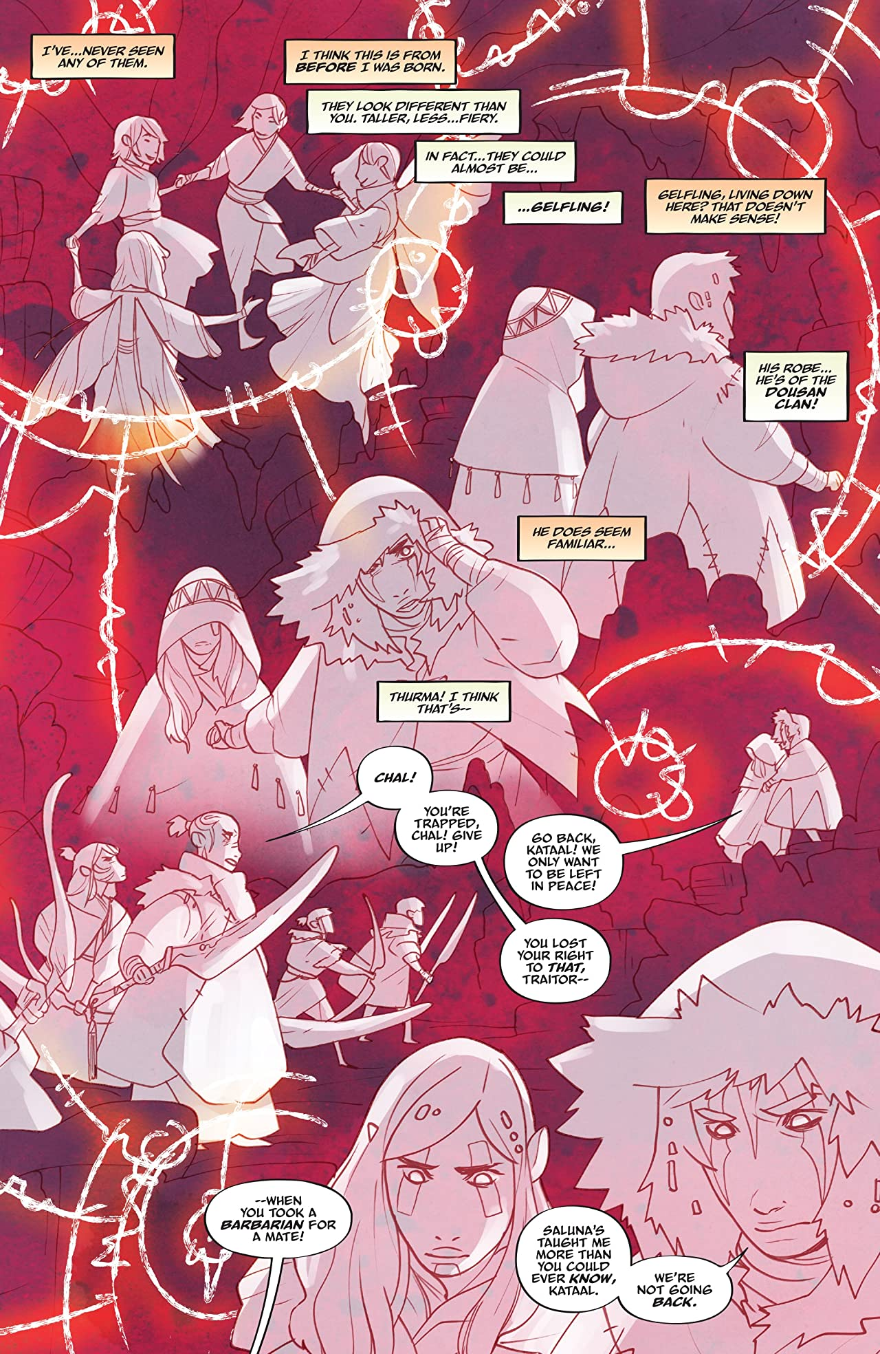 Jim Henson's The Power of the Dark Crystal #10 (of 12)