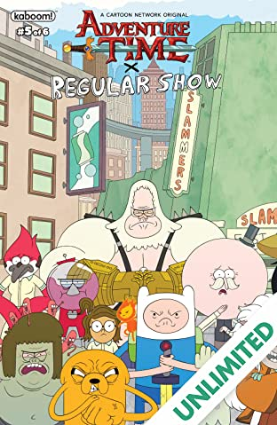 Adventure Time/Regular Show #5