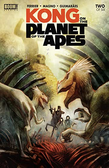 Kong on the Planet of the Apes #2 (of 6)