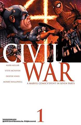 Civil War No.1 (sur 7)