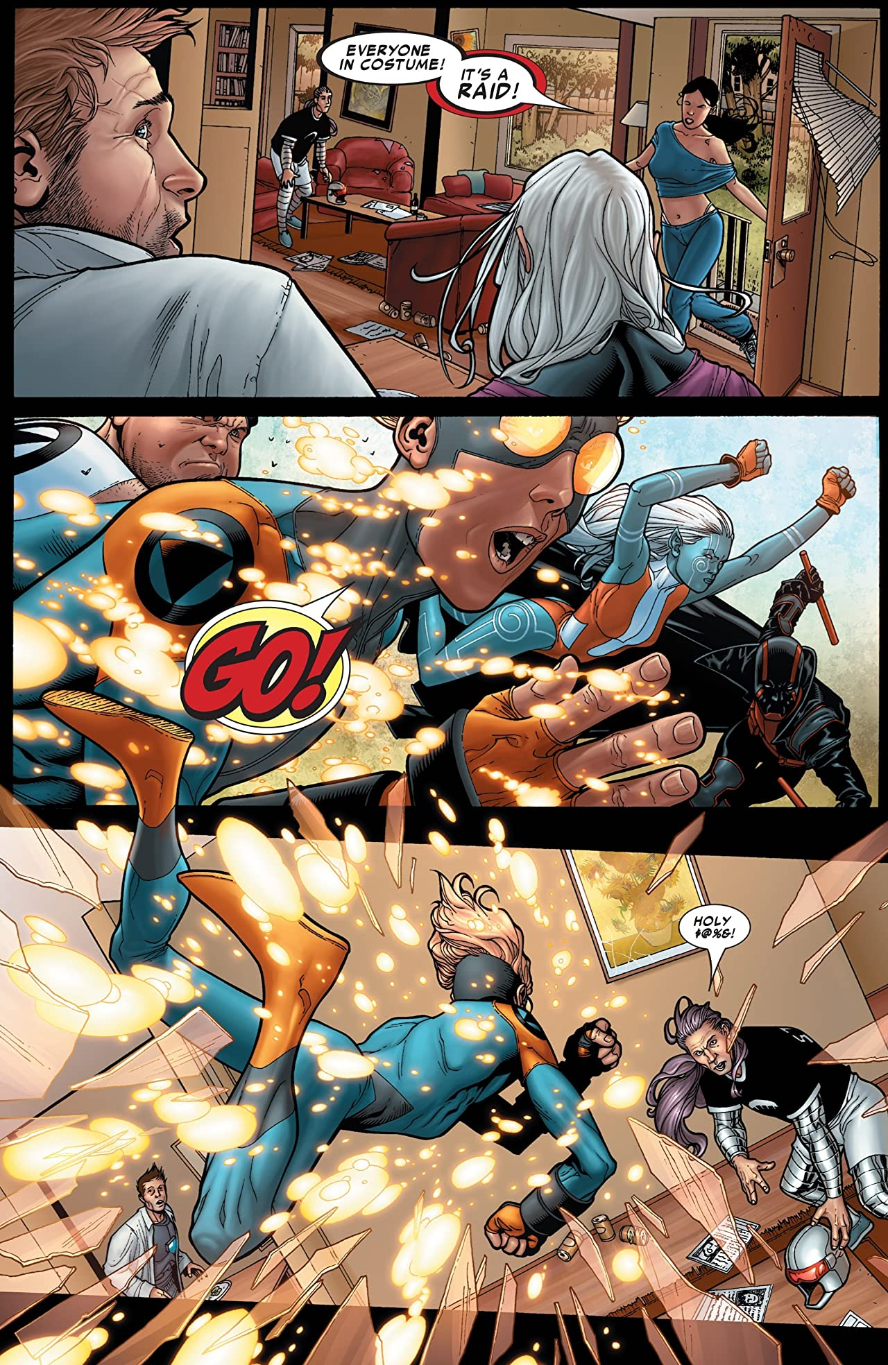 Civil War #1 (of 7)
