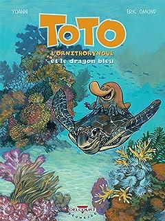 Toto l'ornithorynque Vol. 8: Et le dragon bleu