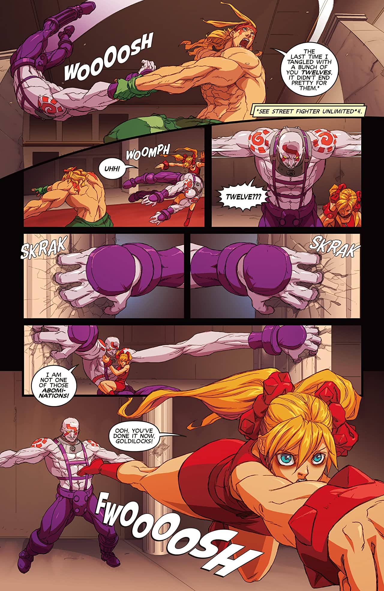 Street Fighter Unlimited Vol. 3: The Balance