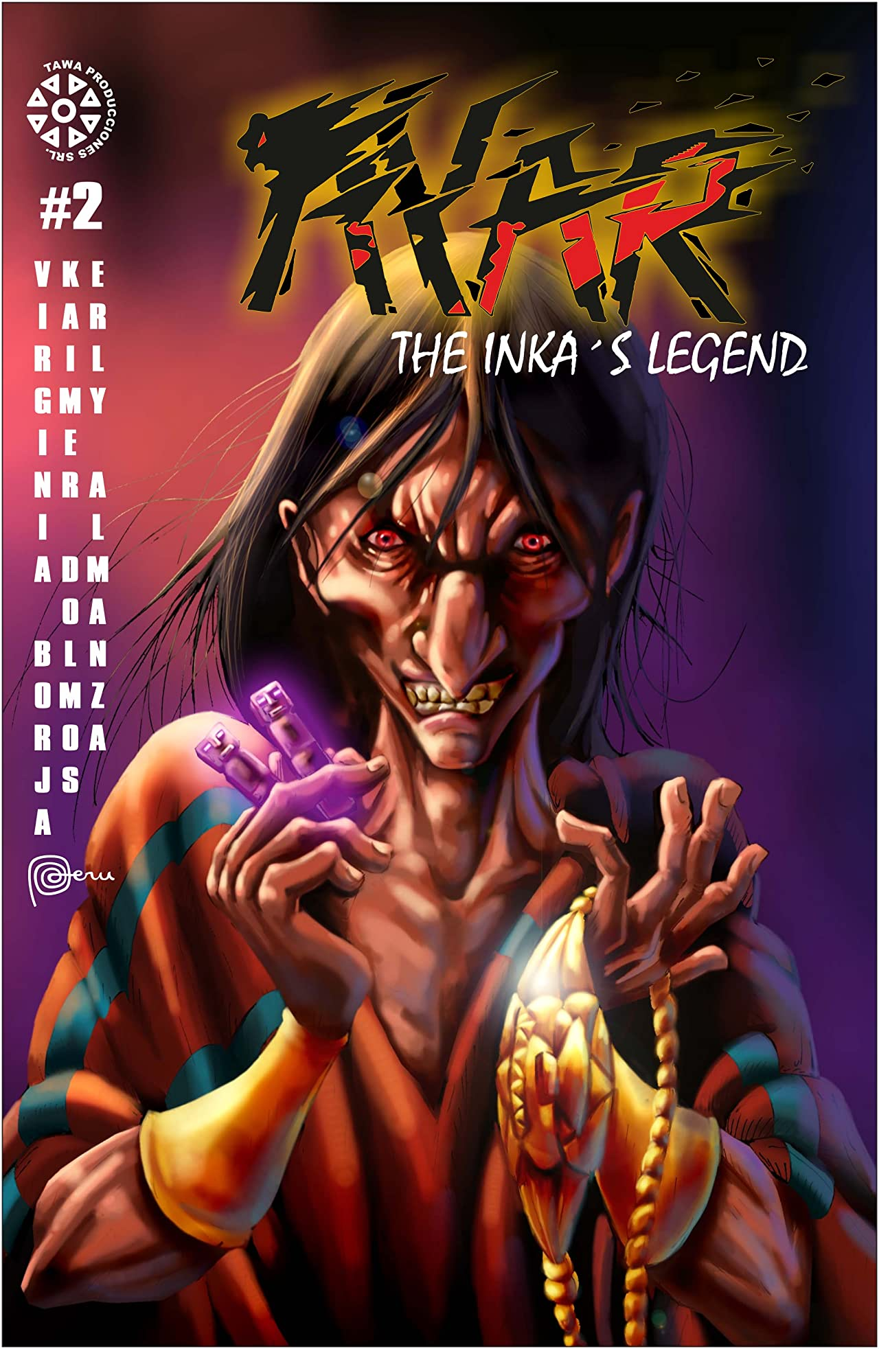 Ayar The Inka's Legend #2