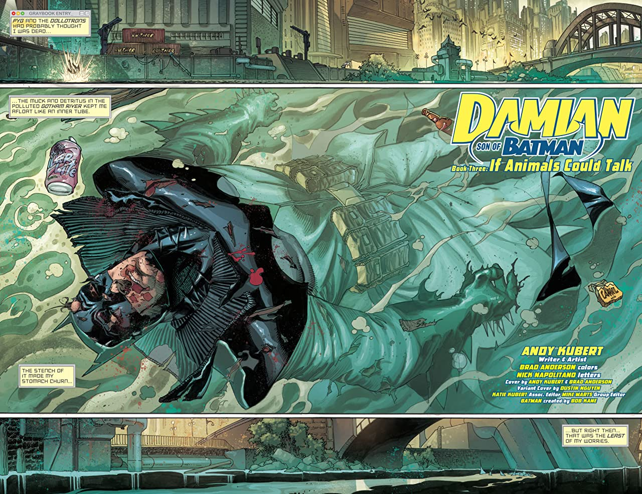 Damian: Son of Batman (2013-2014) #3 (of 4)