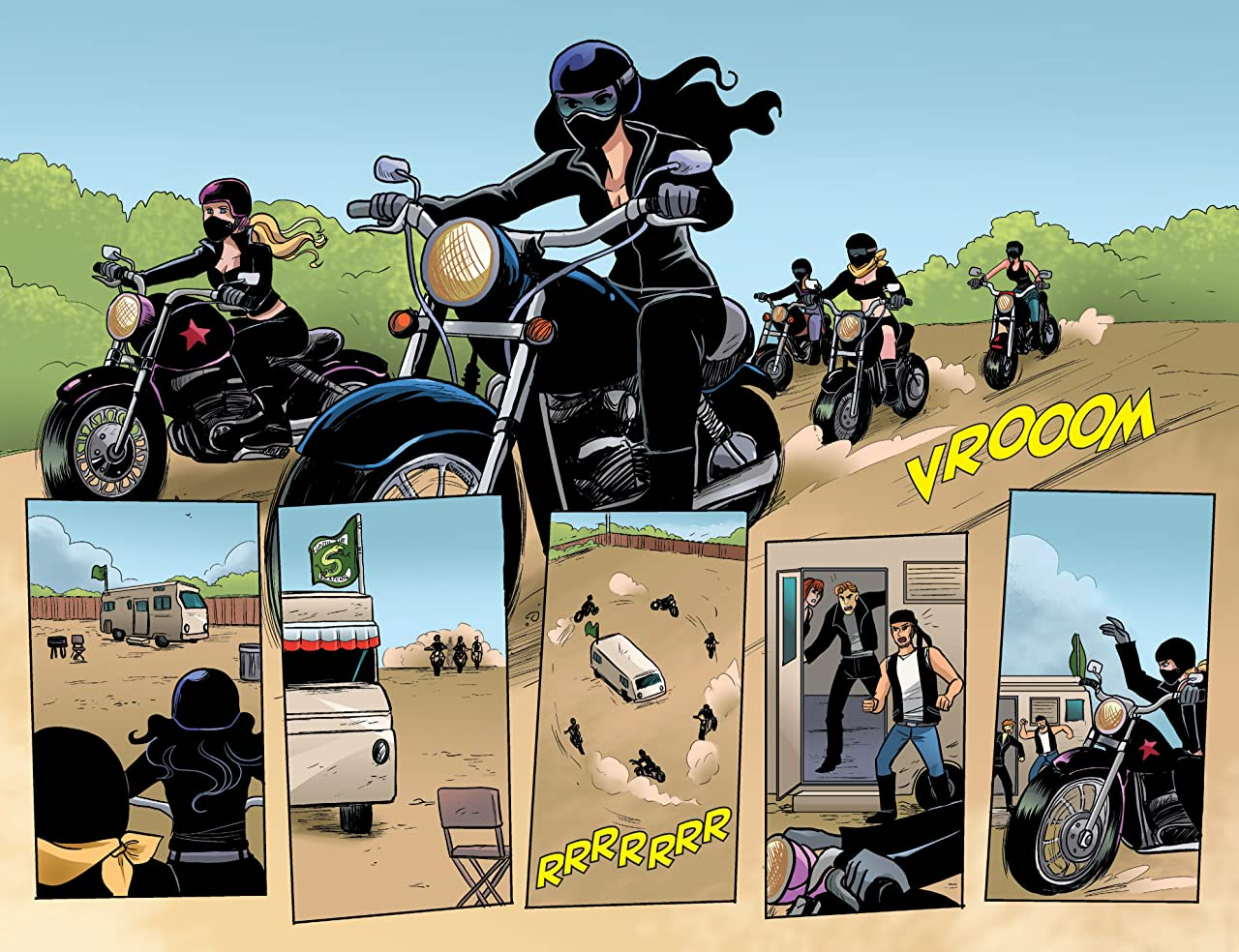 Betty & Veronica Vixens #1