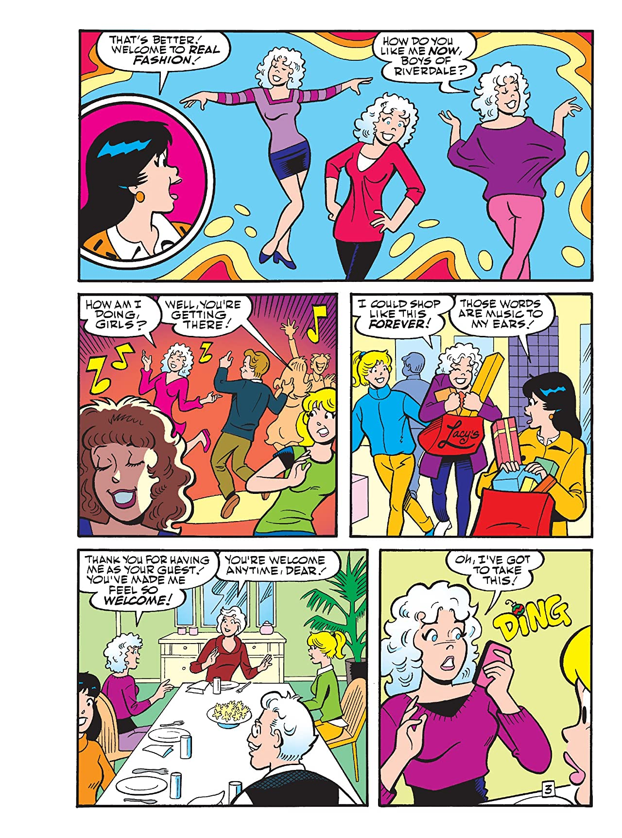 Betty & Veronica Comics Digest #258