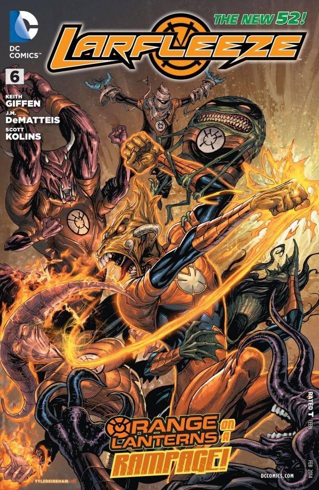 Larfleeze (2013-2015) #6