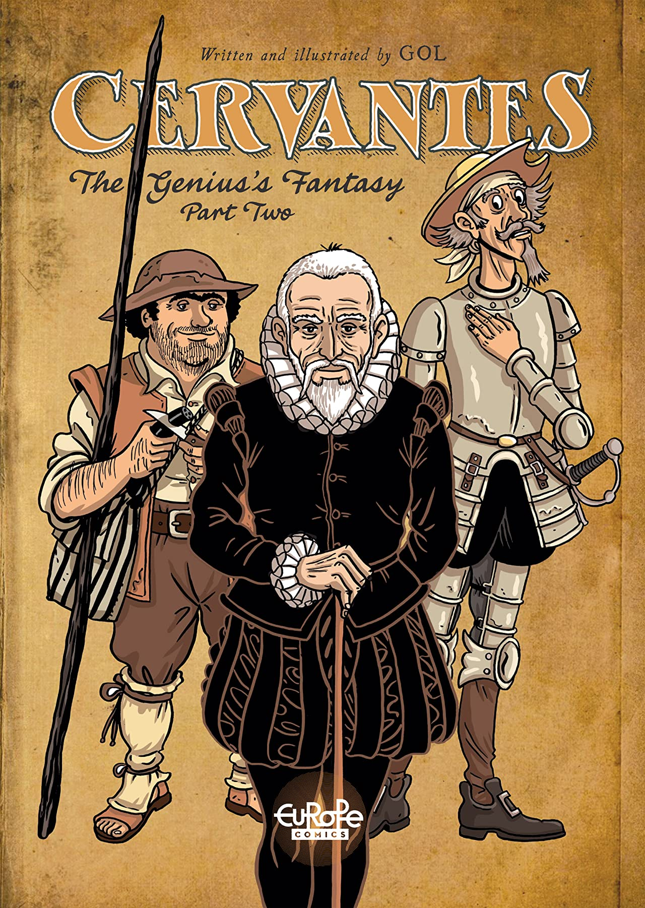 Cervantes Vol. 2: The Genius's Fantasy Part Two