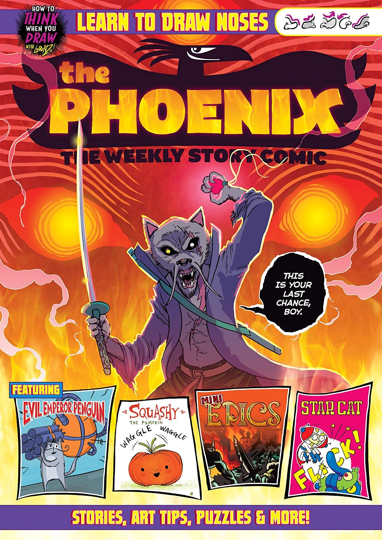 The Phoenix #303: The Weekly Story Comic