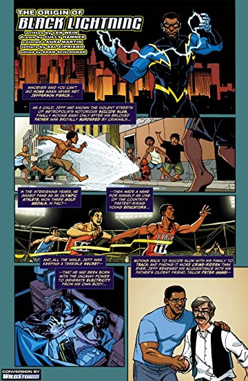 The Origin of Black Lightning #1