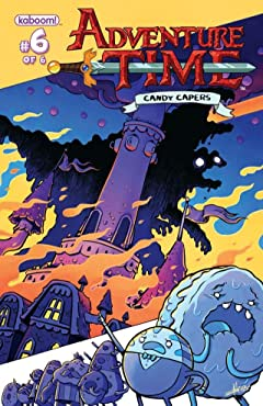 Adventure Time: Candy Capers No.6 (sur 6)