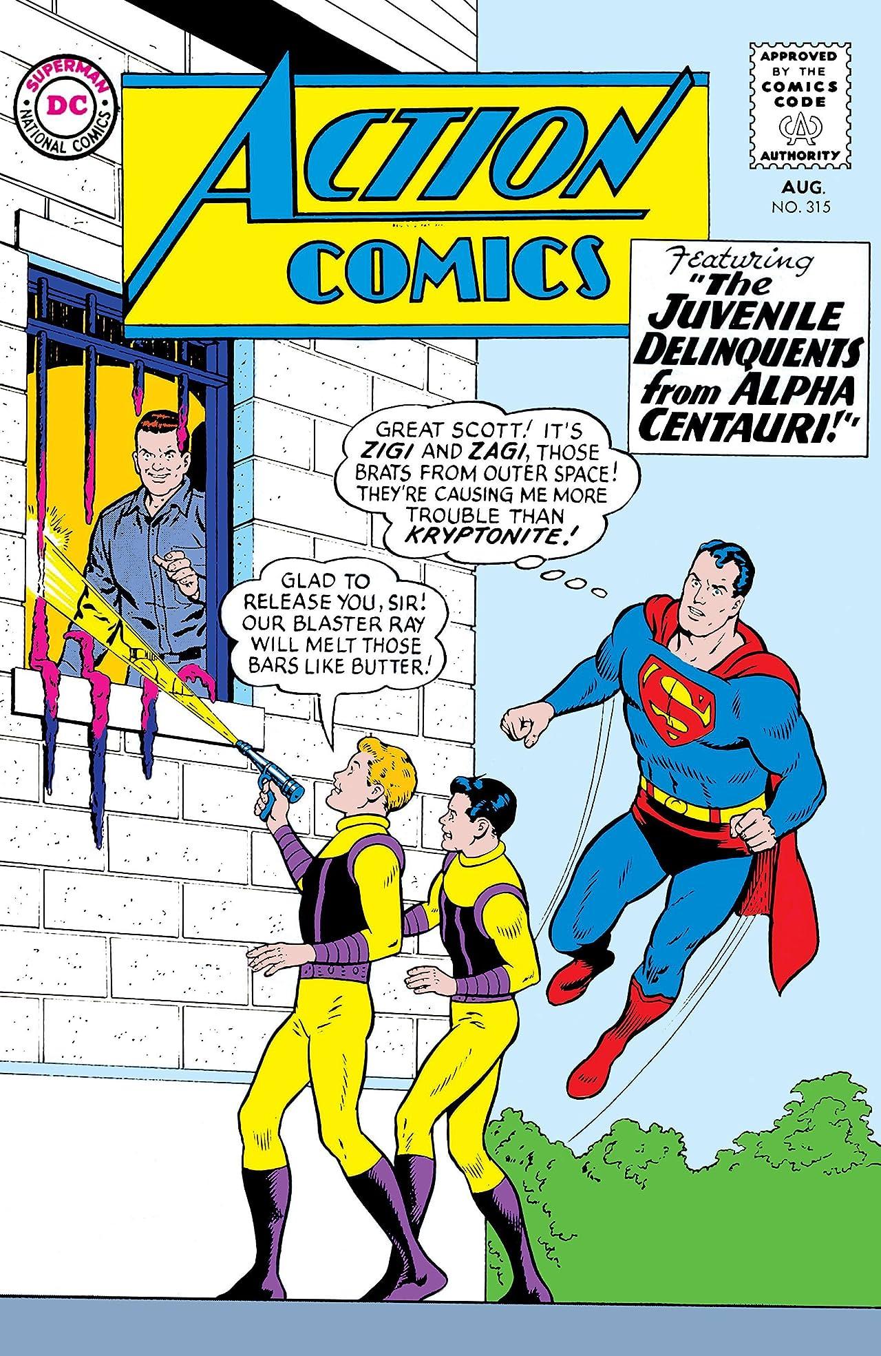 Action Comics (1938-2011) #315