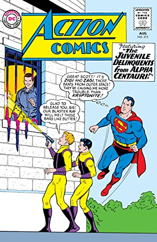 Action Comics (1938-2011) No.315