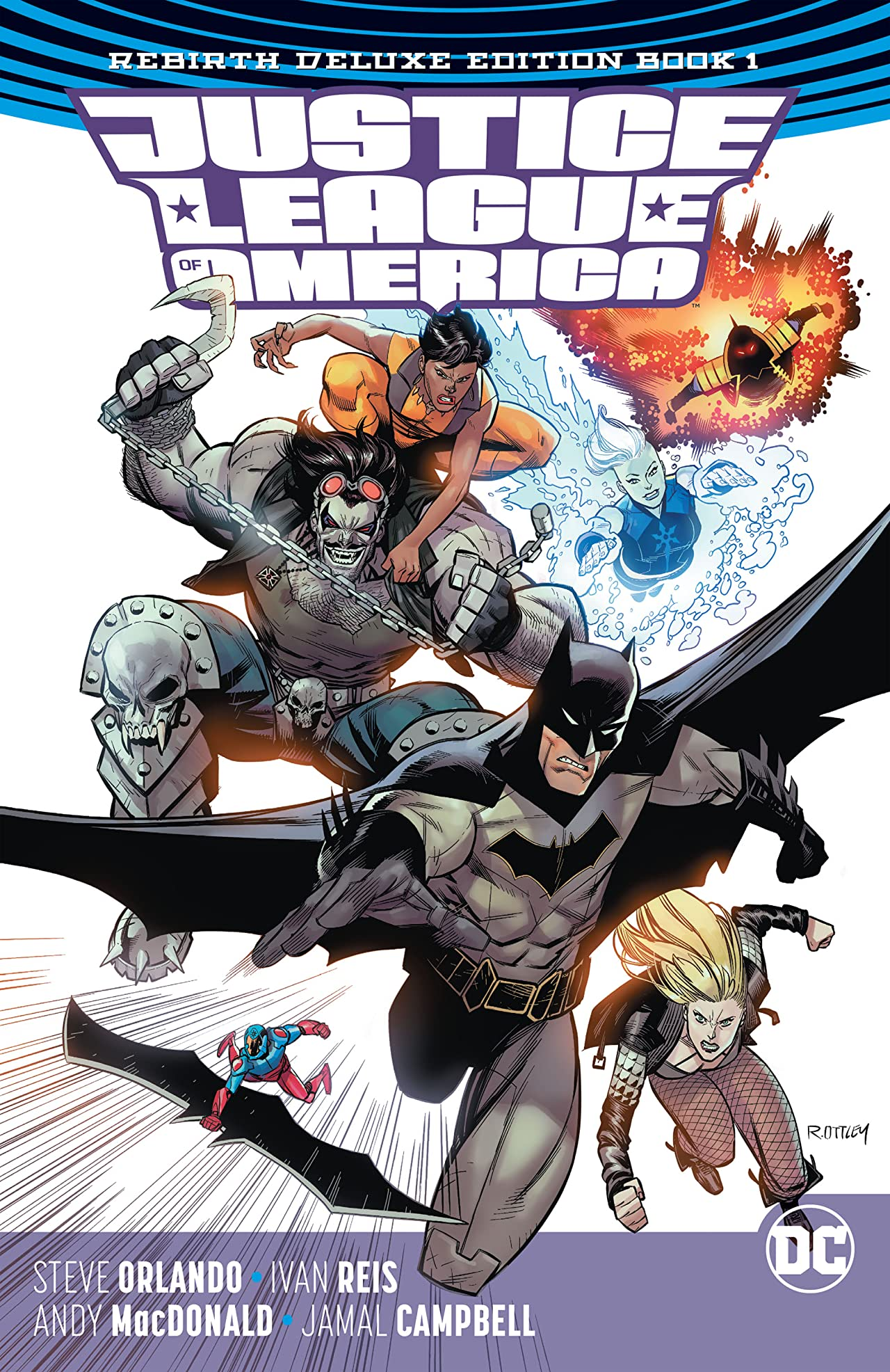 Justice League of America: The Rebirth Deluxe Edition - Book 1
