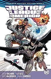 Justice League of America: The Rebirth Deluxe Edition -2018 Book 1