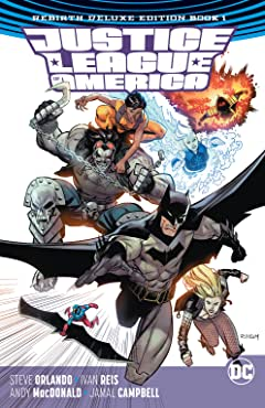 Justice League of America: The Rebirth Deluxe Edition -2018 Book 1