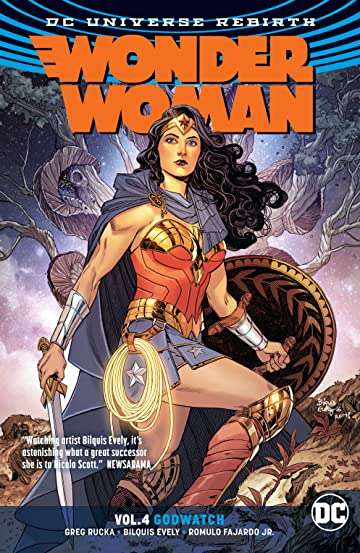 Wonder Woman (2016-) Vol. 4: Godwatch