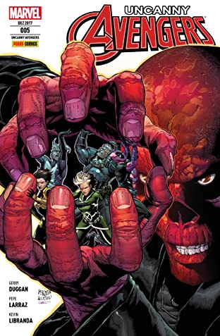 Uncanny Avengers Tome 5: In den Klauen von Red Skull