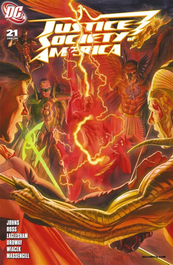 Justice Society of America (2007-2011) #21