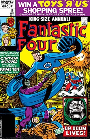 Fantastic Four (1961-1998) Annual #15