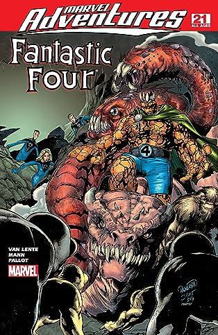 Marvel Adventures Fantastic Four (2005-2009) #21