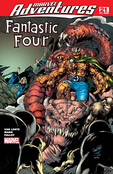 Marvel Adventures Fantastic Four (2005-2009) #21