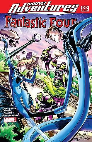 Marvel Adventures Fantastic Four (2005-2009) #22