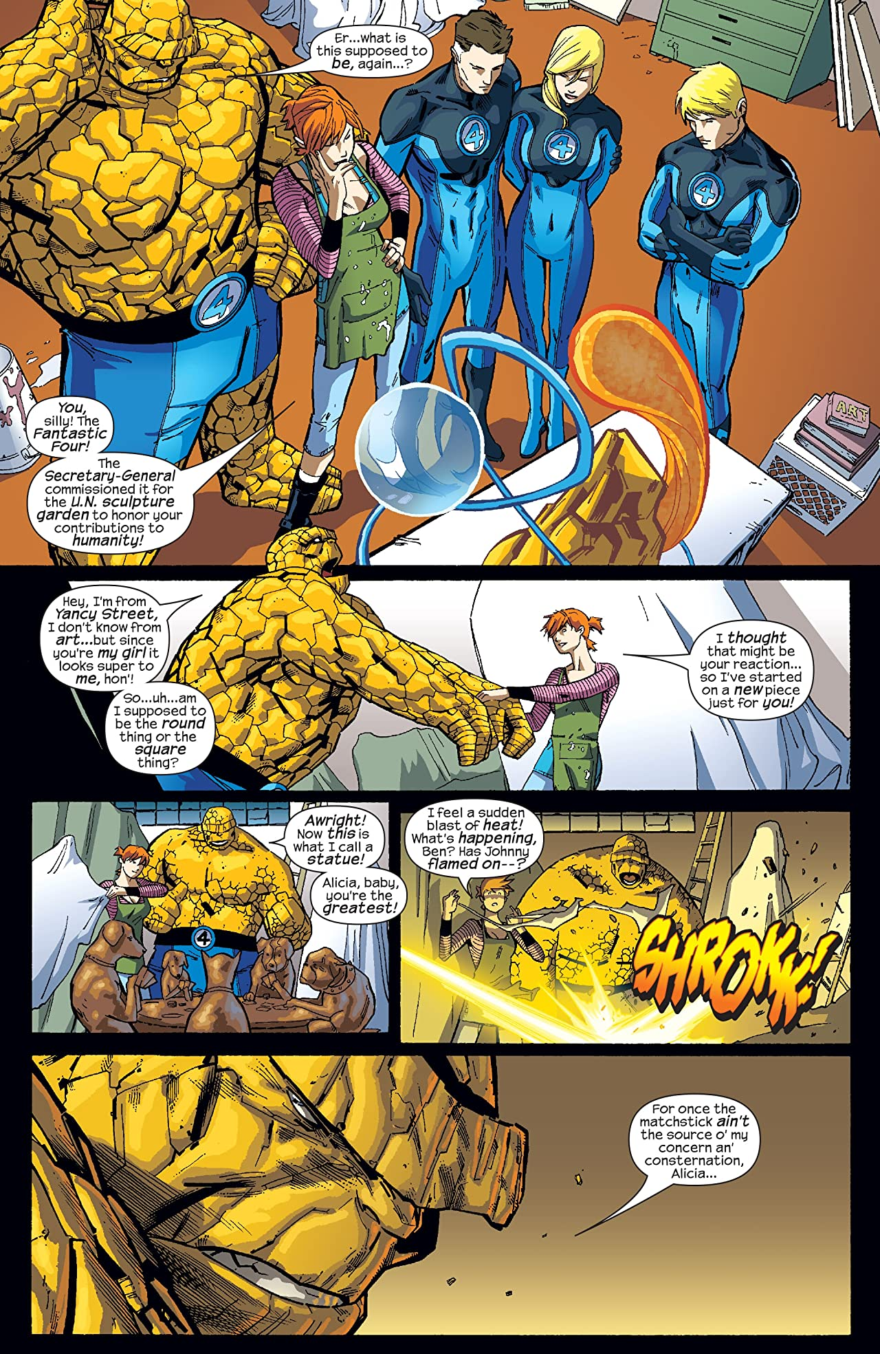 Marvel Adventures Fantastic Four (2005-2009) #23