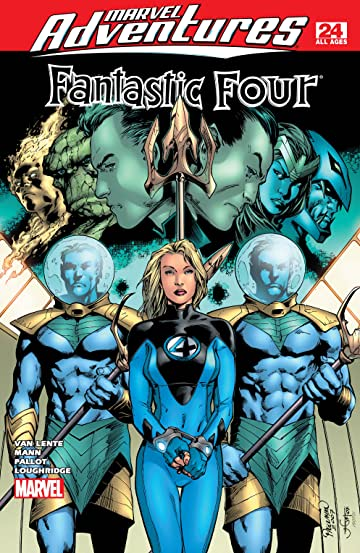 Marvel Adventures Fantastic Four (2005-2009) #24