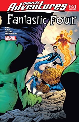 Marvel Adventures Fantastic Four (2005-2009) #29