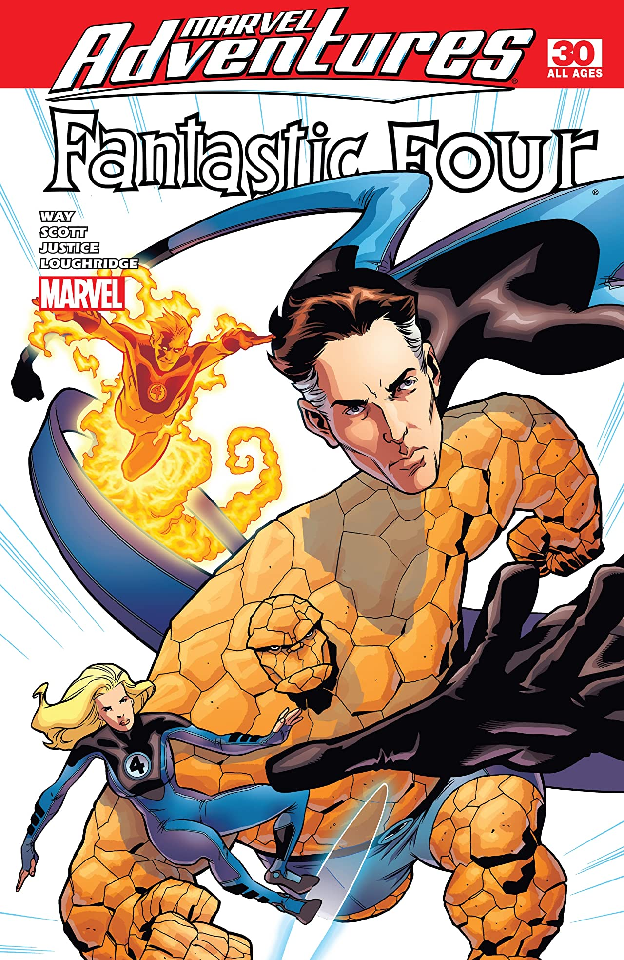 Marvel Adventures Fantastic Four (2005-2009) #30
