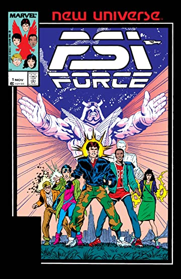 Psi-Force (1986-1989) #1