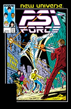 Psi-Force (1986-1989) #2