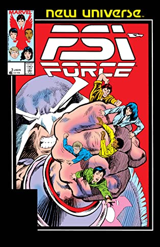 Psi-Force (1986-1989) #3