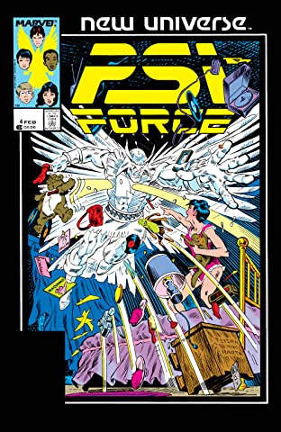 Psi-Force (1986-1989) #4