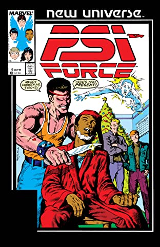Psi-Force (1986-1989) #6