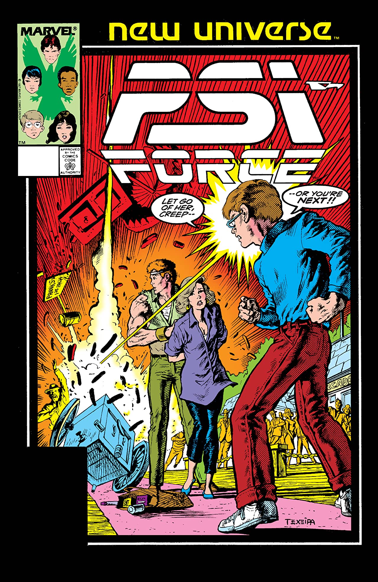 Psi-Force (1986-1989) #7