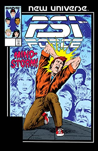 Psi-Force (1986-1989) #9