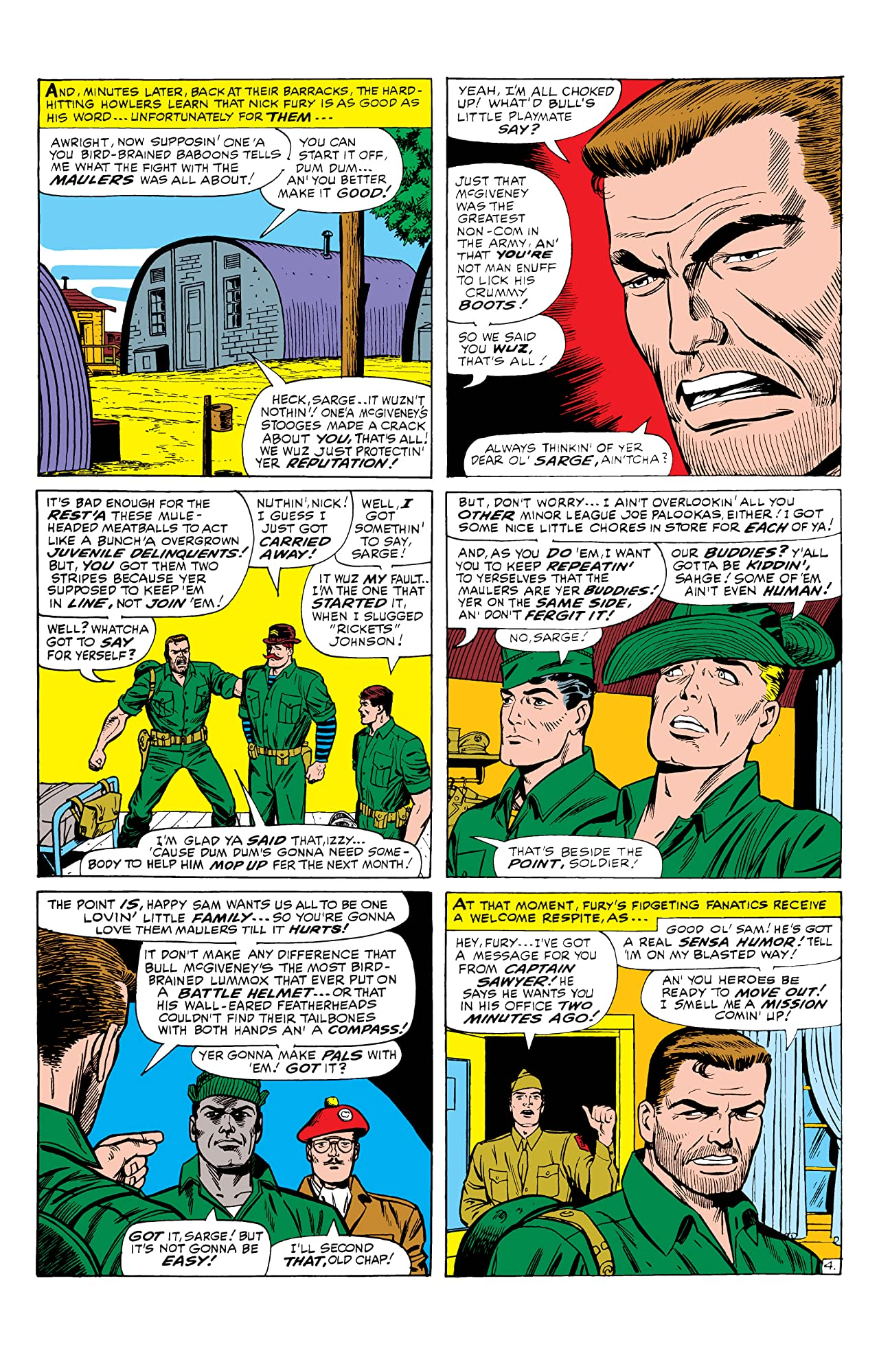 Sgt. Fury and His Howling Commandos (1963-1974) #33