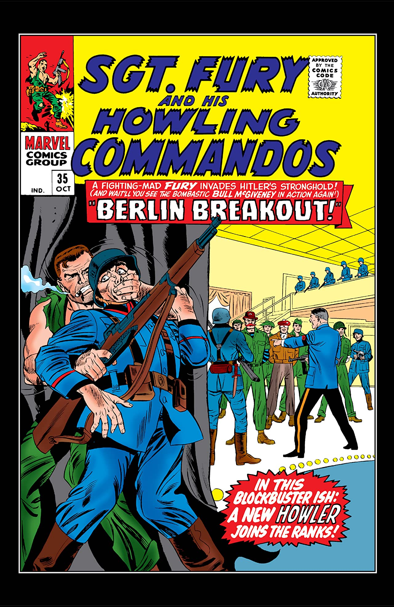 Sgt. Fury and His Howling Commandos (1963-1974) #35