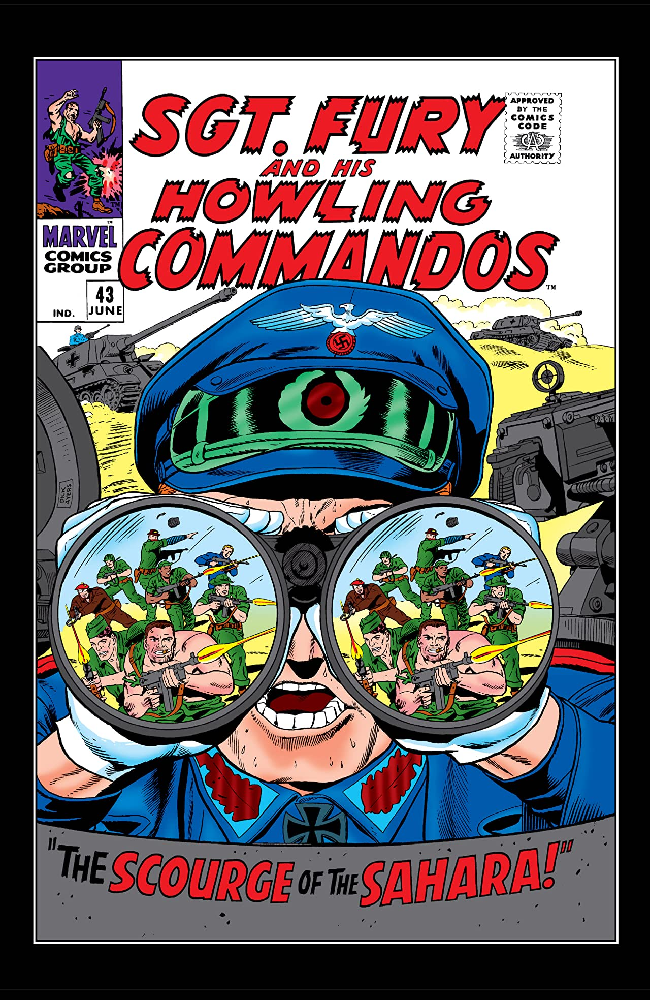 Sgt. Fury and His Howling Commandos (1963-1974) #43