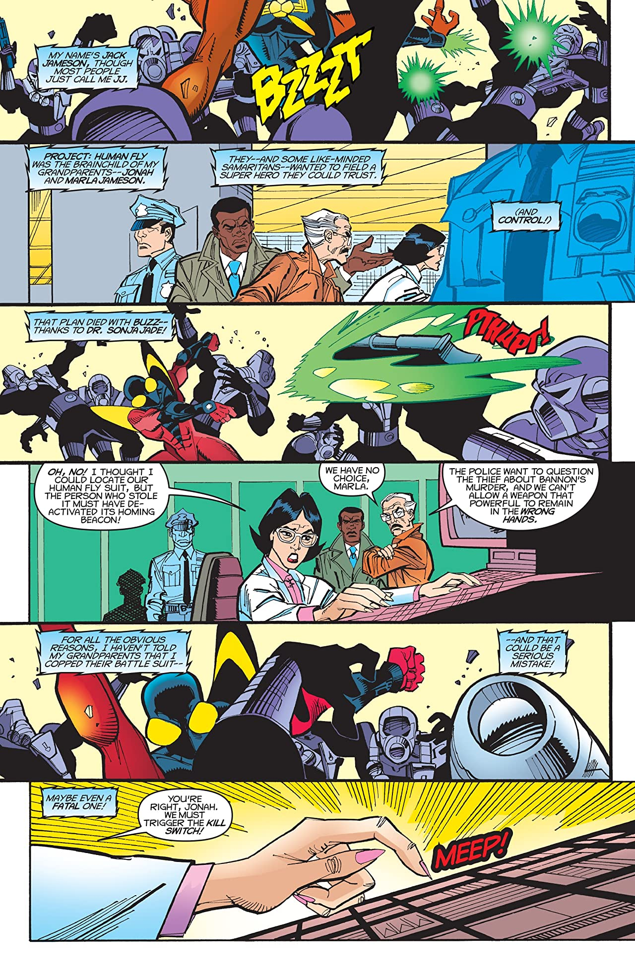 The Buzz (2000) #2 (of 3)